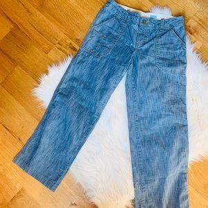 Anthropologie Pilcro Carpenter boyfriend Cut Jeans